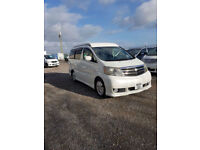 TOYOTA ALPHARD - 2004 Petrol Automatic in White