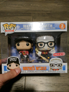 Funko Pop! Wayne and Garth 2 pack Target Exclusive