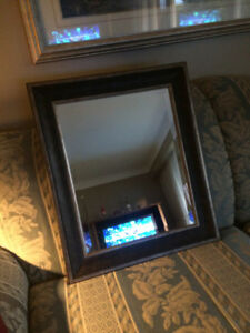 Beveled Mirror size 25 1/2 By 21 1/2 inches Very Good Condit
