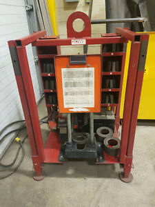 Gates 707 Hose Crimper c/w Hose Saw
