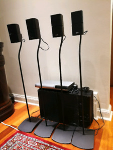 Bose - Lifestyle Model 20 & Acoustimass 25 System with 8 speaker