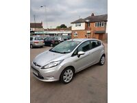 2011 Ford Fiesta Econetic 1.6 Petrol 4 door Service history Low mileage 35K Silver