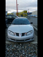 2004 Pontiac Sunfire Silver Sedan