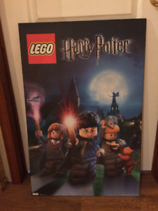 Laminé Harry Potter Lego - Laminated frame Harry Potter