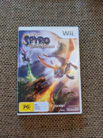 Spyro Dawn of the Dragon Nintendo Wii game