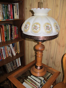 2 ROXTON SOLID MAPLE LAMPS