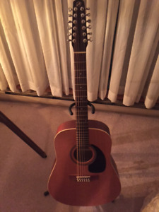 Seagull 12 string acoustic guitar for sale