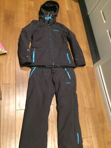 Klim Ladies Insulated snow pant and jacket, size Large