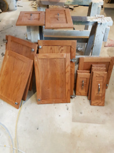 Hardwood doors and drawer fronts