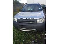 02 landrover freelander breaking 1.8 had head an cluch done less than 1000miles ago