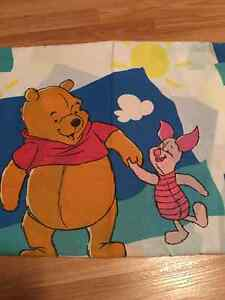 Winnie The Pooh Bed Sheet. Too Sheet Only