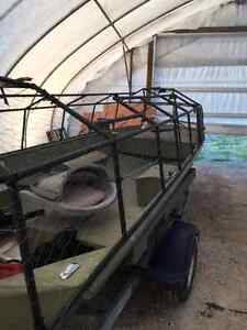 Hunting / Fishing boat with blind Windsor Region Ontario image 4