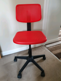Red Desk Chair