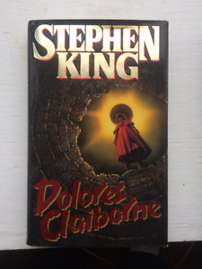 Stephen King !st Edition Book Dlores Claiborne