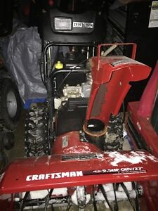 "Craftsman 27"" 9.5Hp Snowblower Works Great $700 OBO"