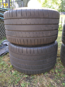 Original Z06 mags and Michelin Tires