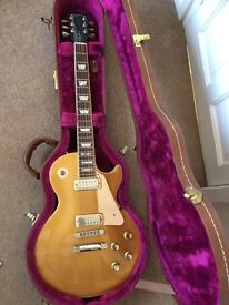 GIBSON LES PAUL DELUXE GOLD TOP Limited Edition Of 300 - 2001- Mint Condition