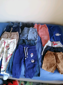 Baby boy's 18-24m trousers and shorts