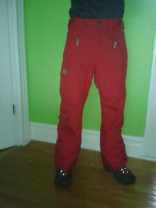 MEN'S  THE NORTH FACE FREEDOM SNOW PANTS Cambridge Kitchener Area image 1