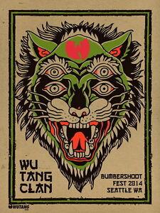 MX02887 The Wu-Tang Clan - RZA Hip Hop Group Music 14
