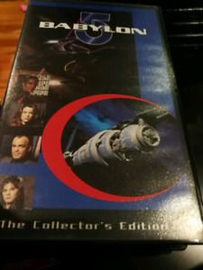 Babylon 5 VHS movie/video cassettes