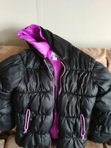 Old Navy Frost Free Puffer Jacket Girls 6-7