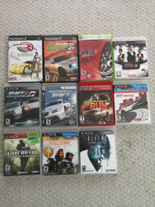 PS3, PS2, Xbox 360 games