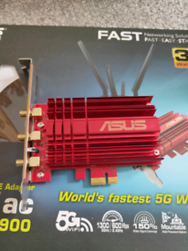 Wireless adapter, Asus gaming signal booster