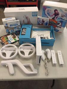 Kit Nintendo Wii avec Jeux et ++++, ÉCHANGE CONTRE STOCK MUSIQUE