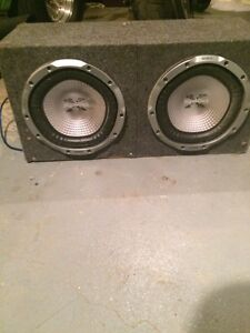 Subs and amps for sale!!