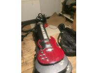 Epiphone SG left handed electric guitar