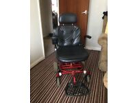 Shoprider electric power wheelchair,great run about town with charger