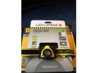 LED lenser headtorch re-chargeable