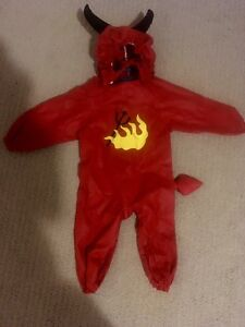 Devil Halloween outfit , 6-9months smoke free, new