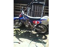 125cc dirt bike not pit bike, yz, cr, kx, ktm