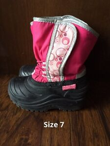 Toddler Size 7 Winter Boot