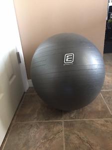Grey Yoga Ball