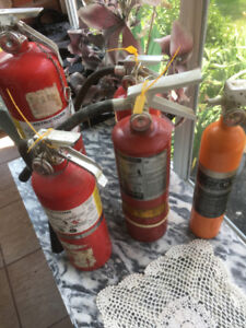 FIRE EXTINGUISHERS FOR SALE VARIOUS SIZES