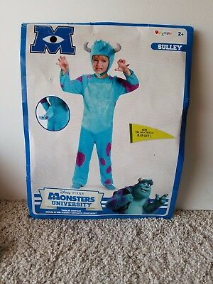 Disney Pixar Monsters Univeristy SULLEY toddler costume size S/P (2T)](Sulley Toddler Halloween Costume)