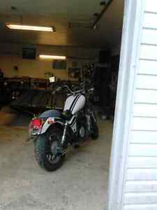 1984 shadow 750 low kms has papers
