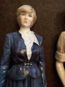 Coalport Prince of Wales and Lady Diana Spencer Figurines HTF London Ontario image 8