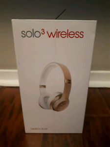 Beats by Dre sole 3 special edition gold