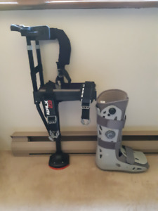 iWalk 2.0 with Air Boot and Heel Wedge