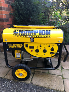 CHAMPION Portable Power Generator 3500W