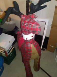 Rudolf the Scottish Reindeer (Christmas prop and decor)