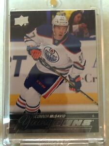 2015-16 Connor McDavid Young Gun rookie hockey card Kingston Kingston Area image 1