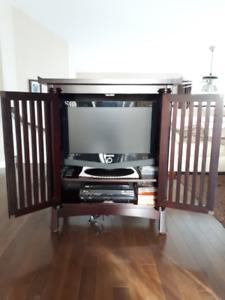 Meuble télé et table à café