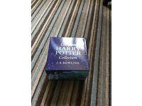 Complete set of Harry Potter in presentation box