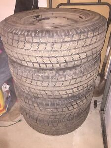 TOYO OBSERVE GSI-5 WINTER TIRES ON RIMS FOR SALE!