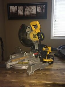 De Walt Miter saw and drill